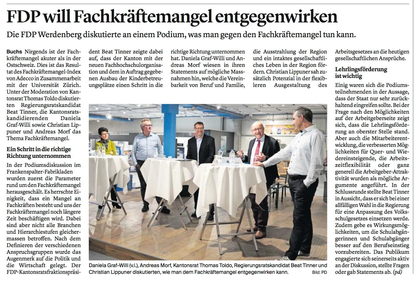 FDP will Fachkräftemangel entgegenwirken