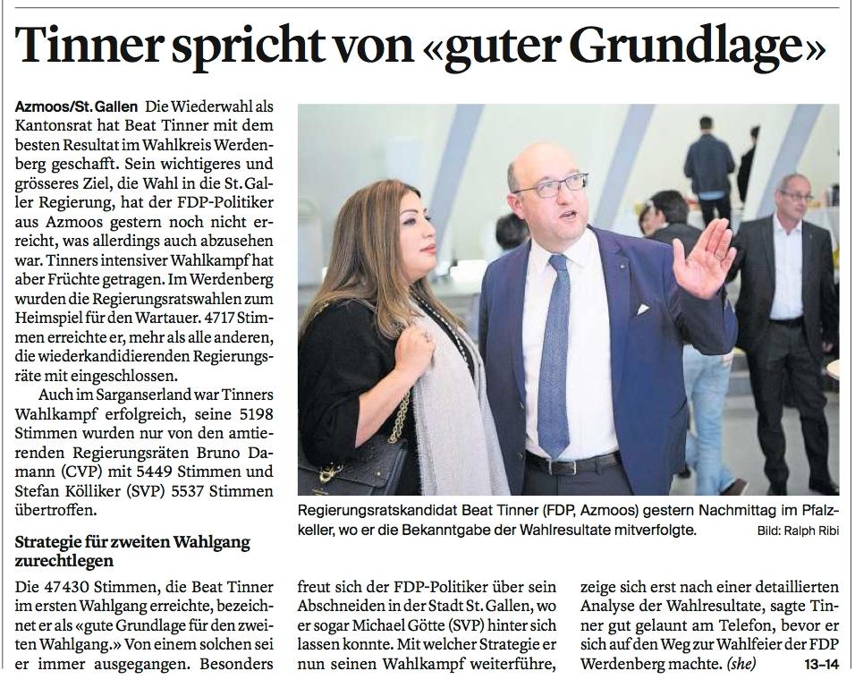 """""""Gute Grundlage"""" für zweiten Wahlgang"""