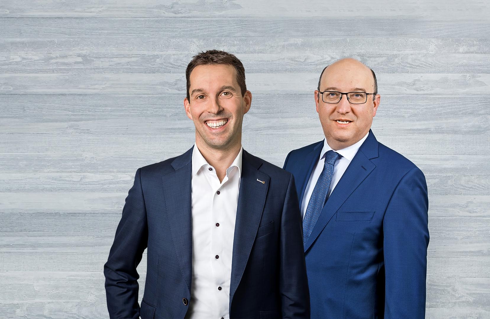 Bürgerliches Zweierticket: Michael Götte und Beat Tinner